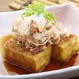 土佐揚げ豆腐