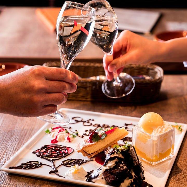 牡蠣×ワインで最高の宴会を!女子会・デートにもオススメです!