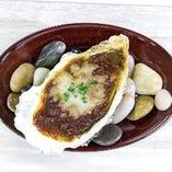 オニオングラタンの焼き牡蠣