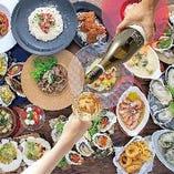 人気の牡蠣料理!カジュアルコース〈全6品〉