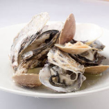 【特別価格でご提供】牡蠣のワイン蒸し 4ピース