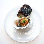 ボイルドロックオイスター ~ 牡蠣醤油ソーストリュフ風味 ~