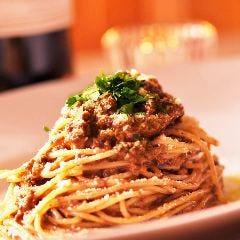 ボロネーゼクリームのスパゲッティ