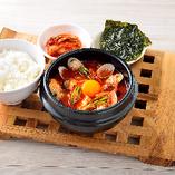 純豆腐チゲ韓定食