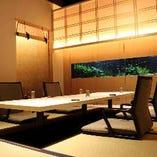 【4〜8名様】掘りごたつ個室x2室 小上がり 接待や記念日などの特別なご宴会に最適