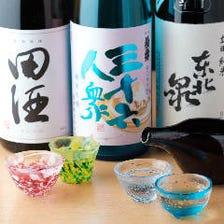日本酒は鮨と相性の良いものを吟味