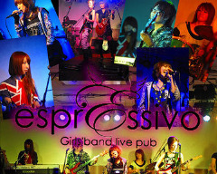 Girls' band live pub espressivo