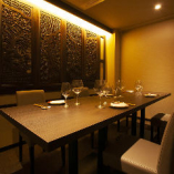 接待・会食にお勧めの3階個室席。4名様~8名様までのご予約可能です。