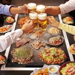 ステーキ・お好み焼き食べ放題 熱狂道とん堀 歌舞伎町店
