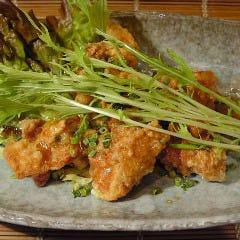 油淋鶏(中華風鶏の香味揚げ)