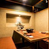 【1階】テーブル席完全個室(最大4名様)