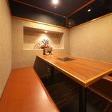 【1階】テーブル席完全個室(最大6名様)