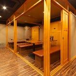 【2階】テーブル席完全個室(最大24名様)