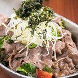 牛タンのお椀サラダ