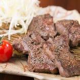 厚切り牛タン黒胡椒焼き