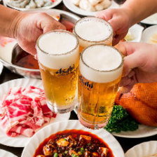 【GoToEatキャンペーン応援感謝】6名以上北京ダック付!2時間本格中華100品食べ飲み放題  宴会・歓送迎会