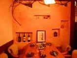 琉球漆喰のお洒落空間