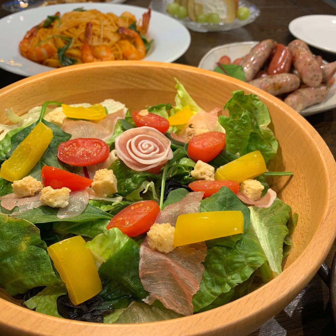 ◎食材へのこだわり◎ 素材本来の味と、目で楽しむ料理をご用意