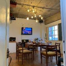 お部屋まるごと貸切の完全個室(2室)