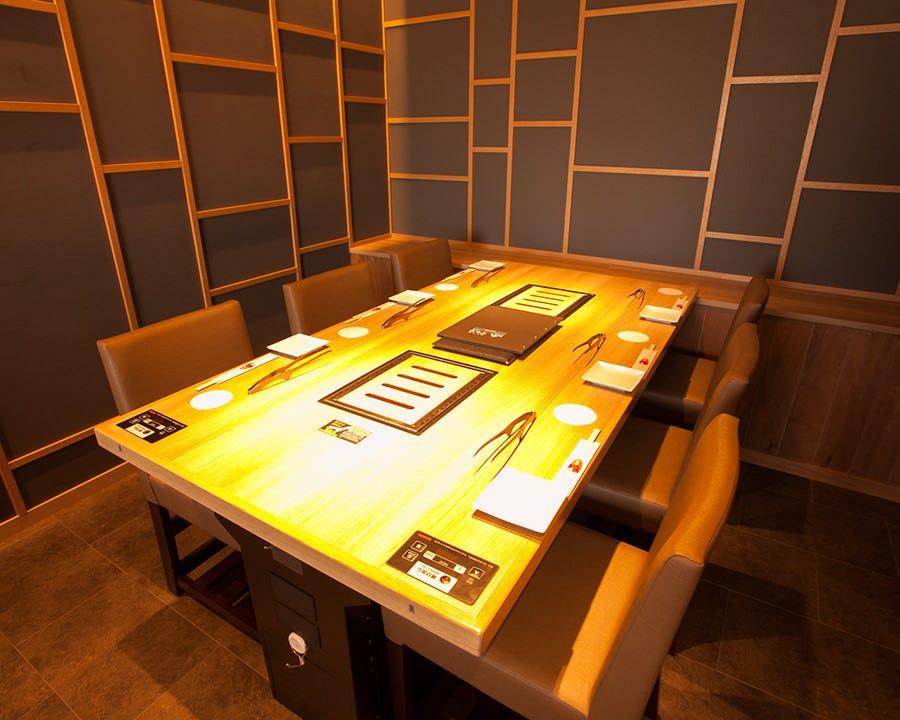 テーブル席・半個室・4名様~12名様