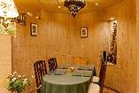 【半個室(~5名様)】プライベート空間で自慢のお料理を堪能。