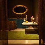 【カップル向け×4部屋】プライベート感あふれるくつろぎのベッド個室