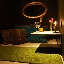 二人の距離が縮まる人気のベッド個室