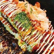 もち明太チーズ/海のもの/たこ三郎/豚キムチーズ