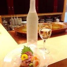 日本酒は500円(税込)~10種以上