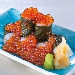 いくら細巻きこぼれ寿司