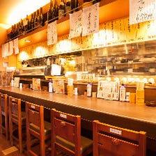 ◆落ち着いた雰囲気の店内♪