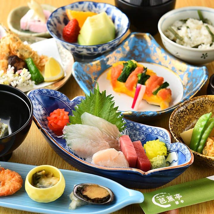 【お料理のみ】海鮮料理をメインに楽しみたい方へ…スタンダードに当店を味わう『深川』[全11品]