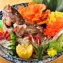 特別料理 祝鯛『鯛の姿焼』