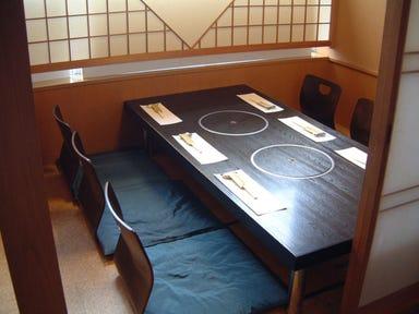 日本料理 栗はら  店内の画像