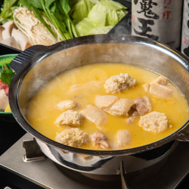 博多 極 もつ鍋・水炊き GEMS横浜  コースの画像