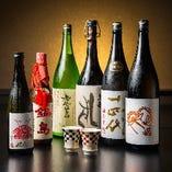 料理に合わせて日本酒もどうぞ。