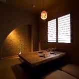 接待や顔合わせにおすすめ♪ほっこり雰囲気の掘りごたつ個室