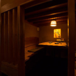 半個室はテーブル席、お座敷席の2パターンをご用意しています