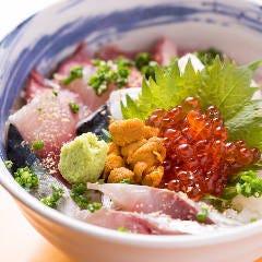 最高の贅沢海鮮丼