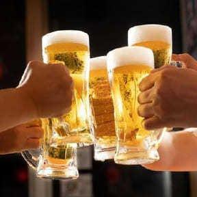 生ビール付き飲み放題も嬉しいポイント!
