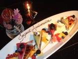 ☆お祝いに特製ケーキや こんなプレートをどうぞ!☆