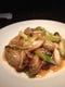 牡蠣とシメジの葱炒め