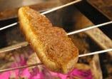 A5ランクの和牛にこだわり、 丁寧に焼き上げた「和牛塩焼き」
