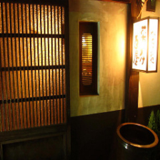 街中にひっそり佇む本格和食家。