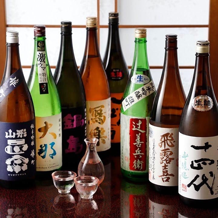 ◆全国の日本酒の数々