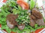 鮪ほほ肉ステーキ定食