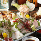 新鮮な魚介を使ったお料理も◎