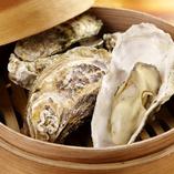 牡蠣のセイロ蒸し
