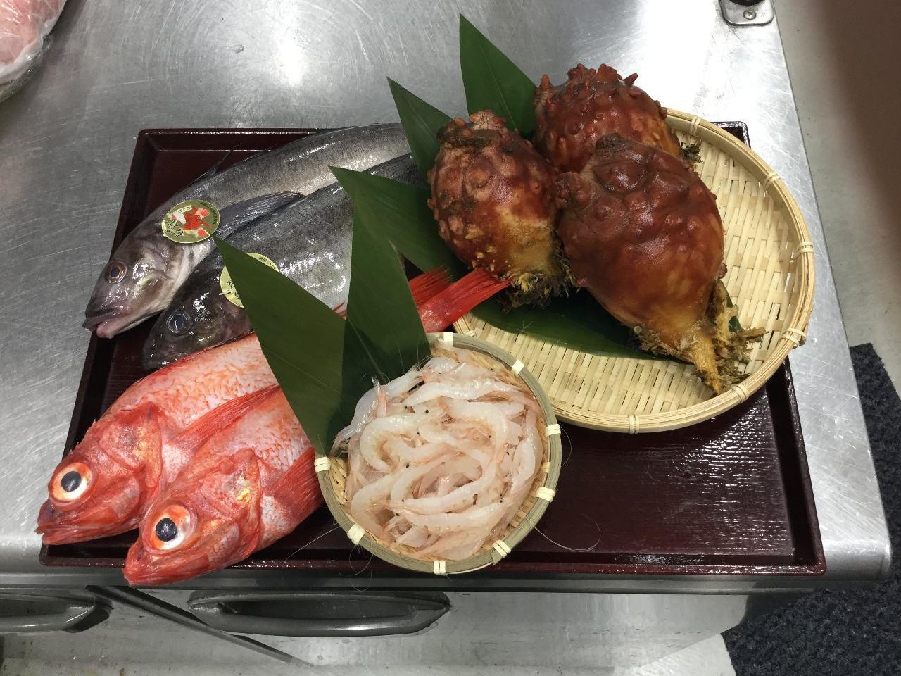 旬鮮魚介と四季の味