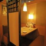 【個室/テーブル席】《2~4名様》プライベートな空間で高級感あふれるお食事を